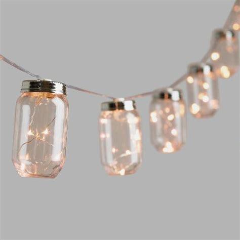 firefly led string lights jar firefly 10 bulb battery operated string lights