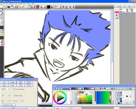 free drawing software pixia and phierha free drawing software