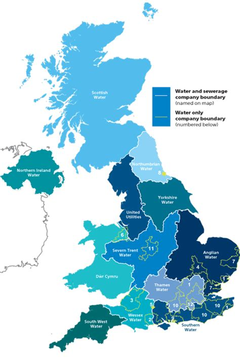 water uk find your supplier water uk