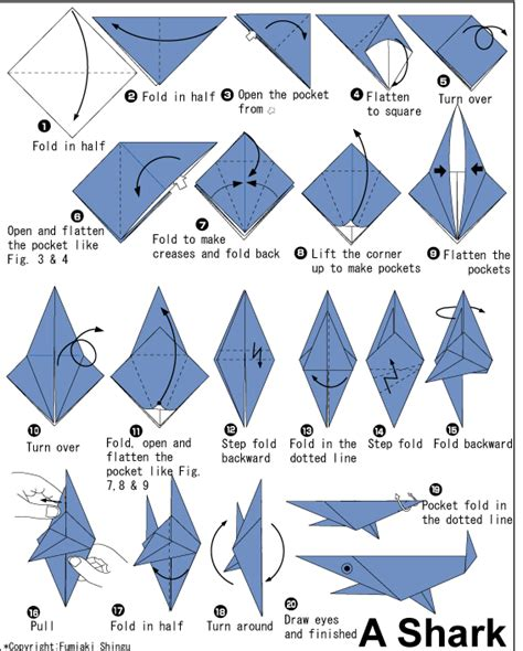 origami pdf free easy origami fish printable 1 ideas for