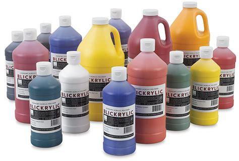 acrylic paint blickrylic student acrylics blick materials