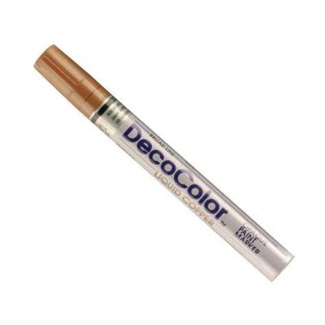 home depot paint pen marvy uchida decocolor copper broad point paint marker 300