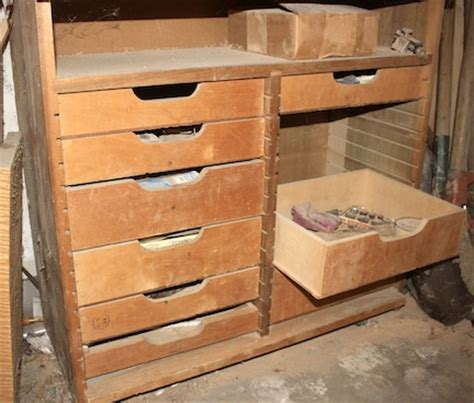 woodworking drawers building workbench drawers