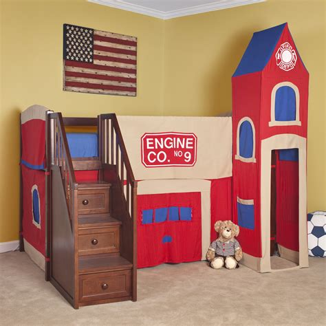 bunk beds with stairs and slide beautiful castle bunk beds with slide and stair combined