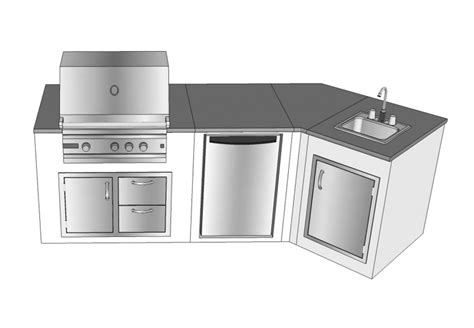 outdoor kitchen island kits kitchen convert your backyard with awesome modular outdoor kitchens tenchicha