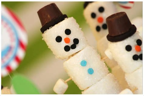 easy crafts for marshmallow snowmen creative crafts to make at home homesfeed