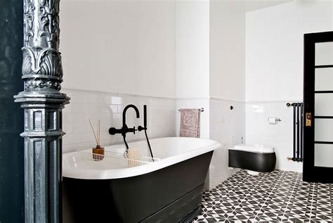 black and white bathroom tile designs 25 creative geometric tile ideas that bring excitement to