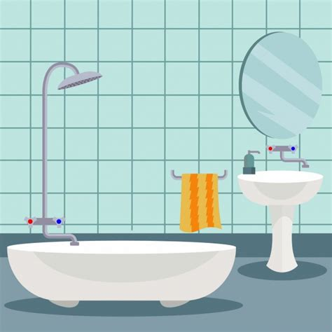 design a bathroom free bathroom background design vector free