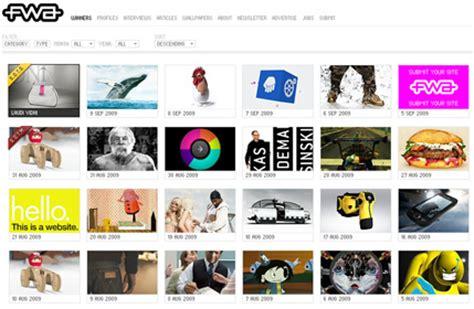 image gallery design 10 absolute best web design galleries web design ledger