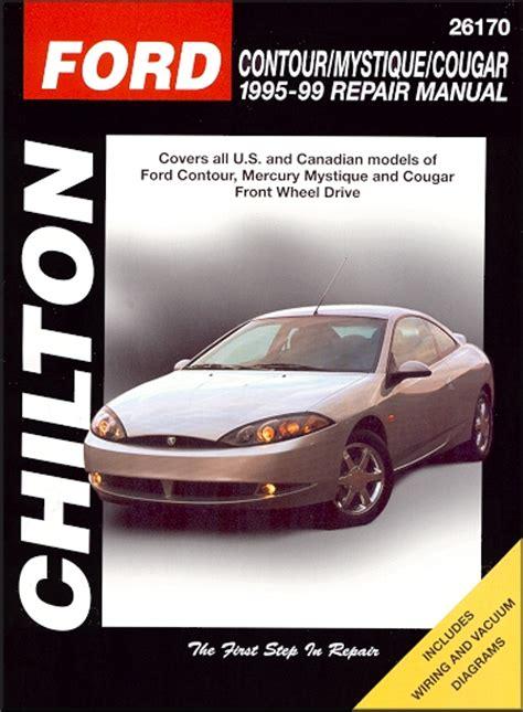 how to download repair manuals 1994 mercury cougar interior lighting contour mystique cougar repair manual 1995 1999
