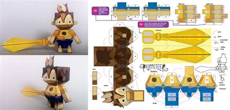 8 Best Images Of 3d Paper Crafts Printable