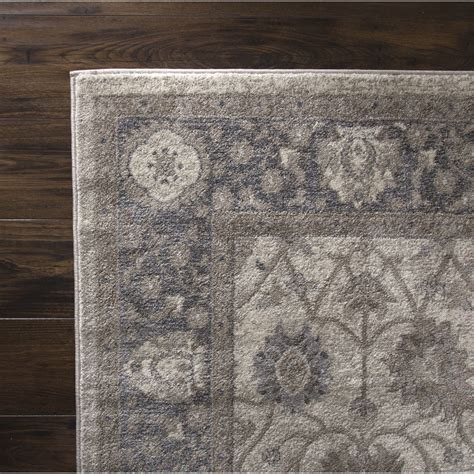 grey and beige area rugs plyh vintage gray beige area rug wayfair