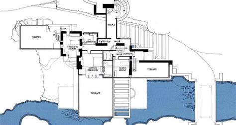 fallingwater floor plans 螯he 竄オoincidental 208 andy built wright fallingwater a