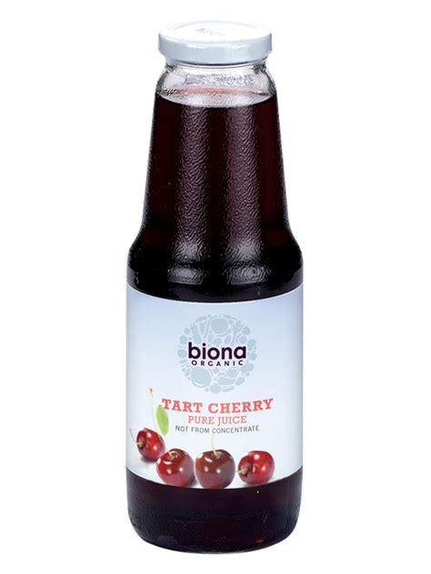 cherry juice tart cherry juice organic 1 litre biona