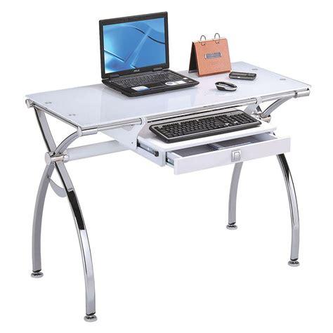 computer desk superstore acme furniture retro contemporary metal and glass computer