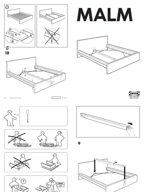 ikea bed frame assembly ikea malm bed assembly