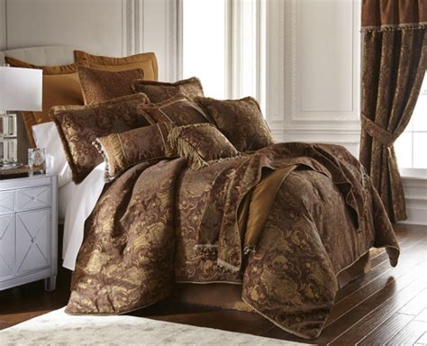 brown comforter set king 6pc magnificent asian brown gold comforter set