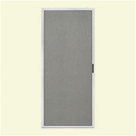 sliding patio screen doors home depot jeld wen 36 in x 80 in premium atlantic white right aluminum sliding screen door 380358