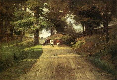 painting indiana file theodore clement an indiana road jpg