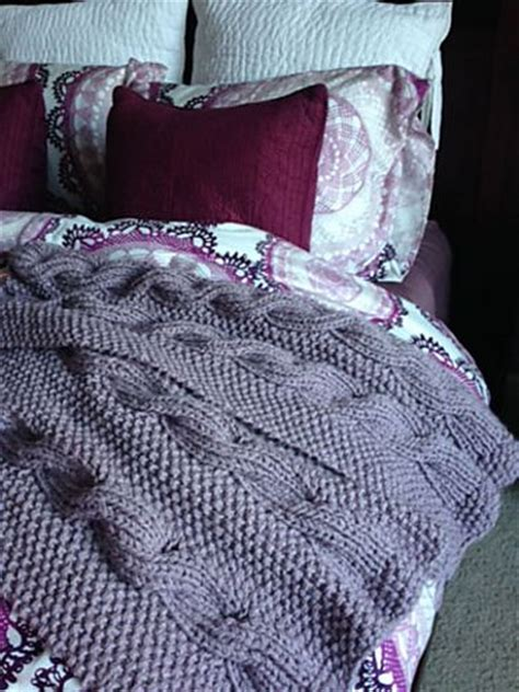 reversible afghan knitting pattern reversible cable knitting patterns in the loop knitting