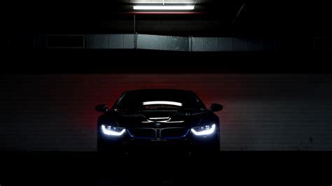 Car Lights Wallpaper by Bmw I8 Car Vehicle Parking Lot Lights Electric Car