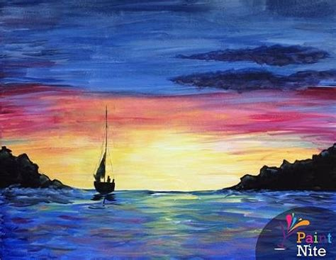 paint nite island pictures paint nite sail away 1