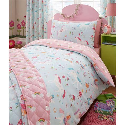 unicorn bedding magical unicorn single duvet cover set unicorn