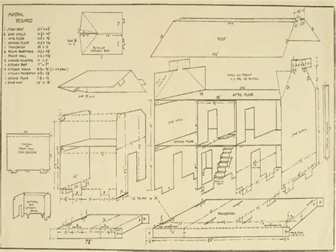 design blueprints for free doll house plan free country doll house free plans blueprints for houses free