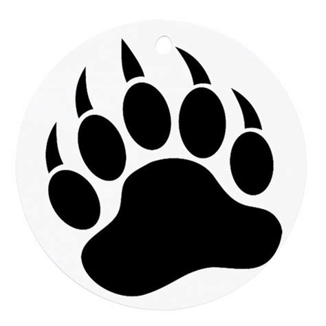 bear paw clipart clipart best