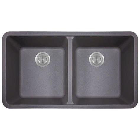 composite undermount kitchen sinks mr direct undermount composite 22 in single bowl kitchen