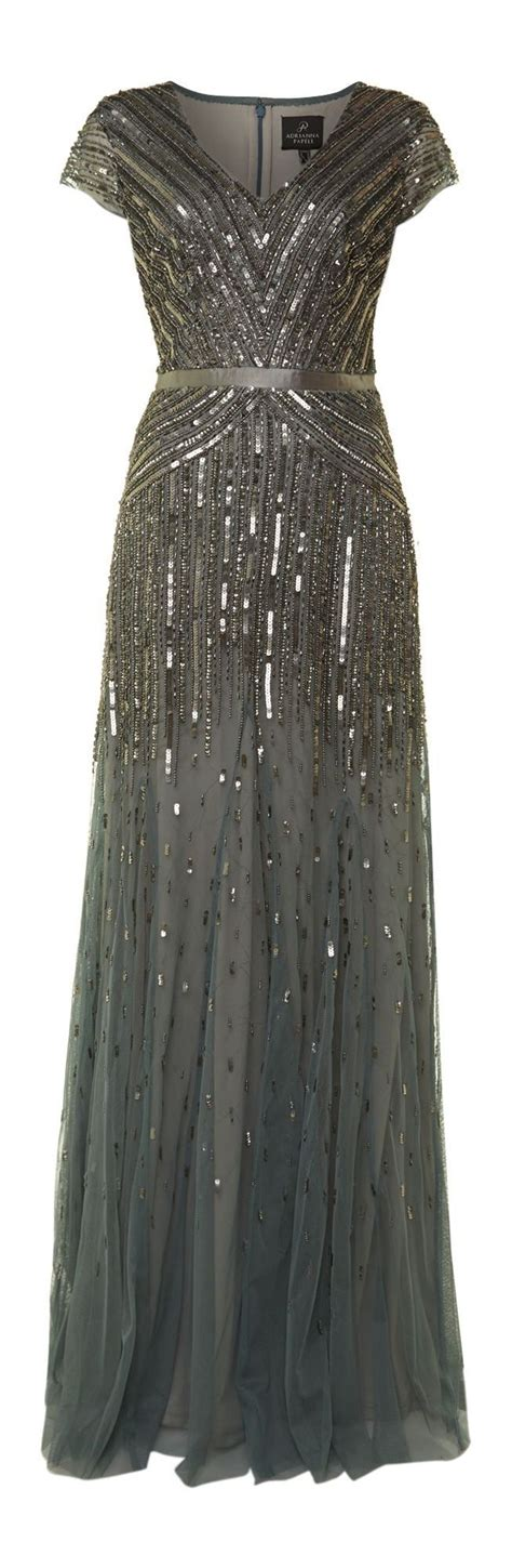 gray beaded dress 25 best ideas about papell on