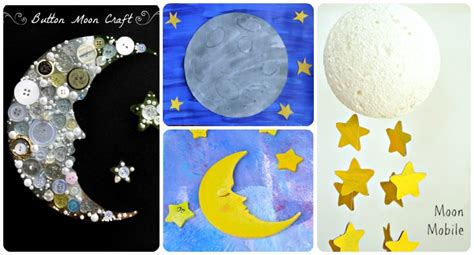 moon crafts for 20 space themed crafts with children