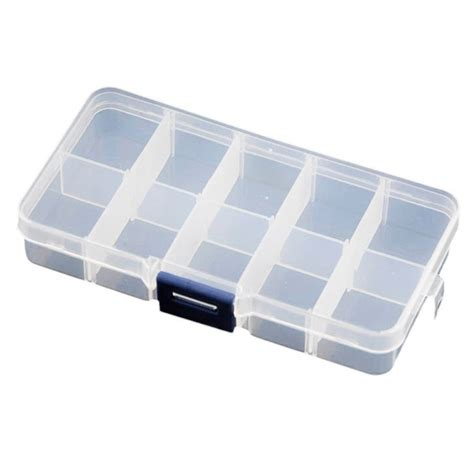 jewelry storage containers clear plastic organizer box d buy 36 grids clear plastic