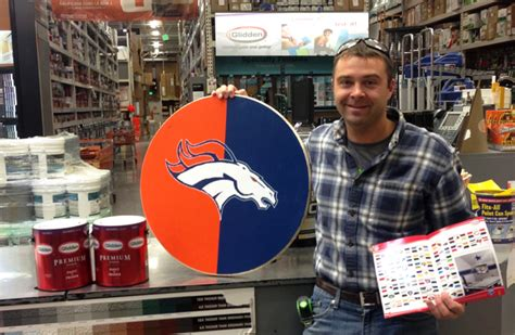 home depot paint nfl colors how to build a hutch