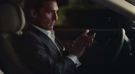 Matthew Mcconaughey New Lincoln Commercial by More Mcconaughey In Lincoln Mkx Ad
