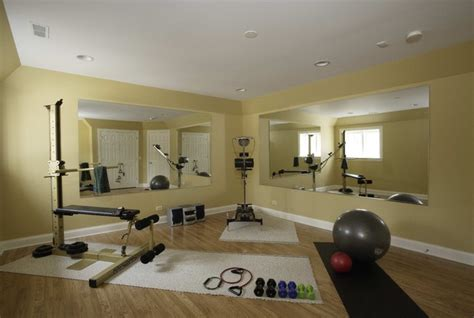 paint colors for exercise room basement exercise room traditional home chicago