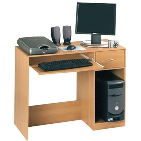 computer desk beech fusion computer desk beech officesupermarket co uk