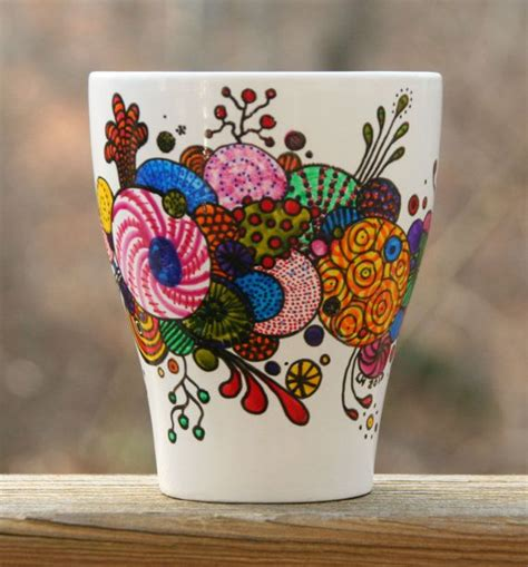 25 best ideas about painted coffee mugs on