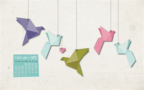 origami paper birds cool green wallpaper 2560x1440 82268