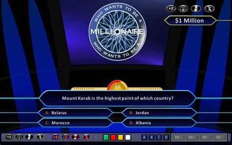 who wants to be a millionaire demonstration hd ppt 2010