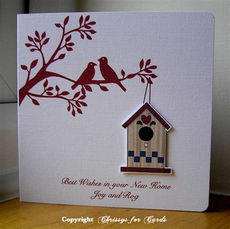 new home cards to make 69 best images about card ideas on