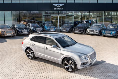 New Bentley Bentayga First Edition: first examples