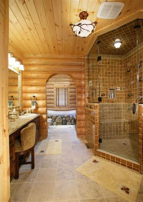 Log Home Bathroom Ideas by 30 Warm And Cozy Log Bathroom Design Ideas