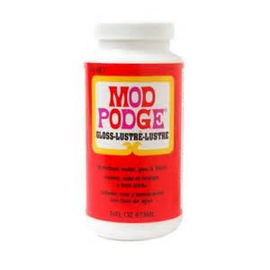 decoupage pva glue mod podge gloss glue sealer and finish for decoupage by