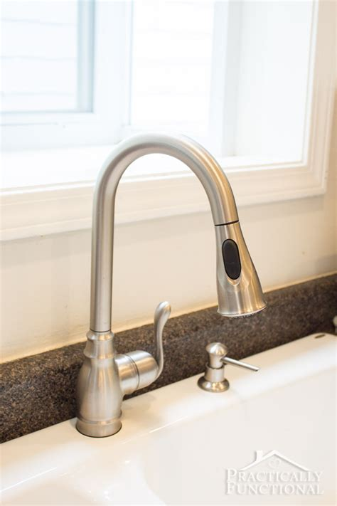 how to install faucet in kitchen sink how to install a kitchen faucet