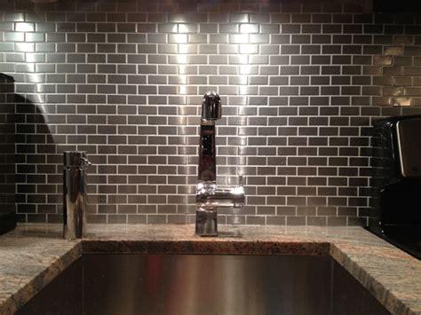 stainless tiles for backsplash stainless steel backsplash subway tile outlet