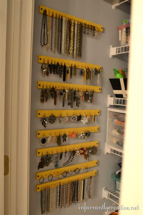 how to make a hanging jewelry organizer creative jewelry storage ideas modern diy designs