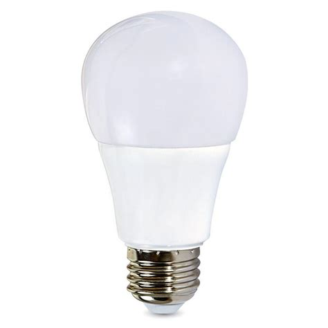 home depot led light bulb verbatim 60 watt equivalent daylight a19 non dimmable led