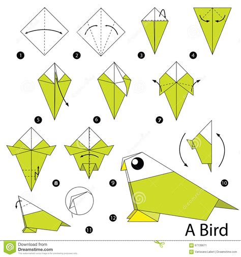 origami bird step by step origami bird apexwallpapers