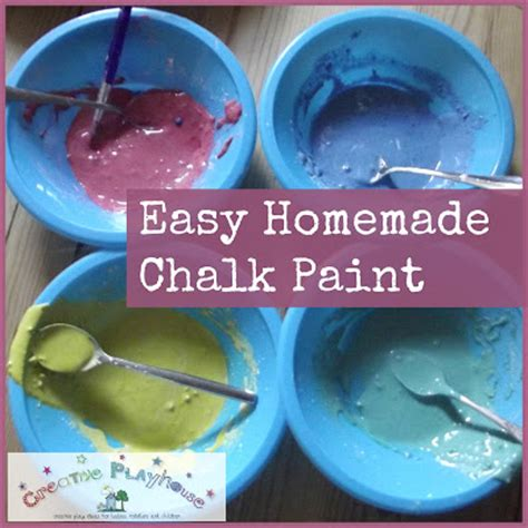 chalkboard paint using cornstarch creative playhouse easy chalk paint